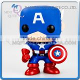 Mini Qute Funko Pop Marvel Avenger super hero Captain America action figures collection cartoon models educational toy NO.FP 06