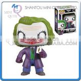 Mini Qute Funko Pop Marvel Avenger super hero Batman The Joker action figures collection cartoon models educational toy NO.FP 36