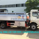 Low price of new 2000 gallon fuel tanker / light fuel oil truck tanker for sale in Uruguay