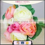 Romantic Artificial rose wedding bouquet flower for bride                                                                         Quality Choice