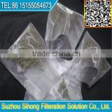 nylon filter tea bag/tea bag nylon mesh/food grade nylon mesh nut milk bag