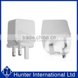 CE Approval Double USB UK Plug Mains Charger