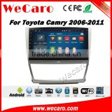 Wecaro WC-TC1031 10.2 inch android 4.4/5.1 car dvd gps player for toyota camry 2006 - 2011 Wifi 3G GPS Radio RDS