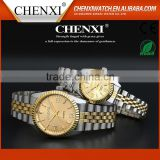 Business Gift Japan Original Quartz Water Resistant Luxury Ladies Gold Watch