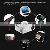 2016 Newest X6 MiNi Home Theater LCD Projector 480*320p Support 1080p More than 20000 hours LED