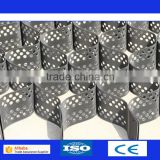 black plastic grid gravel stabilizer hdpe geocell for driveway