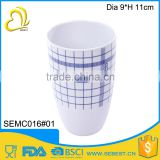 High quality beautiful printing plastic water tumbler mug