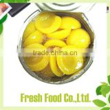 cheap canned food canned yellow peach half A10