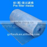 FRS-30 pre filter cotton for air clean,spray booth filter, air conditioning filter cotton (made in china)