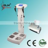 Professional bioelectrical impedance body composition analyzer with scale