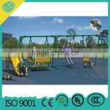 Single swing with slide kids double swing children outdoor swing MBL10-C16