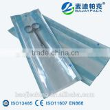 Medical Grade Gusseted Paper-Film Bag for Steam and ETO Sterilization