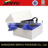 Heaven and Earth cover wallet box, custom logo printed paper packaging box                                                                                                         Supplier's Choice