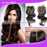 brazilian lace front top closure weaves