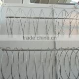 razor wire / razor barbed wire / concertina wire