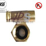 NSF61 approved low lead brass meter tailpiece stock