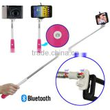 Wireless Self Timer Artifact Handheld Monopod Tripod Mount Camera Clip for IOS Android Smartphone