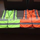 China Safety vest with 3M Scotchlite reflective tapes