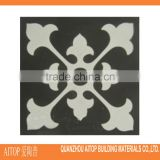 Black texture interior floor tile cement tile rustic flooring carpet cement material tile china made cement floor decor panel