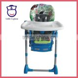 Baby plastic dining table portable kids highchair booster