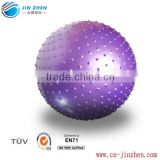 75cm gym ball big massage balls Non-toxic PVC wholesale eco friendly pvc anti burst yoga massage ball