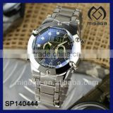 U.S. Sport Watch for men Chrono Digital Alarm Watch made of stainelss steel 304L Stainless steel watch
