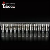 Tobeco top selling new arrival beautiful 510 glass drip tips plastic drip tip