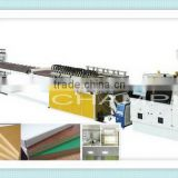 High grade first-class wpc crusting foam board production line