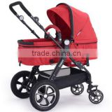 Aluminum Alloy Frame Air Free Wheel Baby Buggy 3 in 1with EN1888/ASTM
