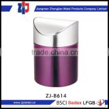 high quality kitchen trash bin colorful