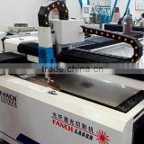 200W-500W metal fiber laser cutting cnc machine for aluminum, carbon steel, galvanized sheet, copper, brass etc.