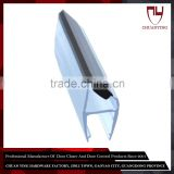 For 5 / 6 / 8 / 10 / 12 mm Auto Close Glass Shower Door Plastic Seal Strip