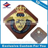 Artistic design decorative wall plaque wooden shield trophy awards wholesale
