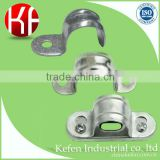 Galvanized steel pipe clamps of BS&EMT electrical conduit