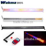 2015 new 50'' led strobe light bar! Curved 288w offroad led bar, remote control RGB flashing bar light for 4wd,suv,car,jeep
