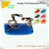 Plastic Single outerdoor Swing Seat With Ropes