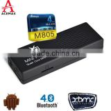 Amloigc M805 android 5.1 quad core mini digital pocket tv USB Wifi Bluetooth mini pc stick