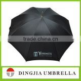 shenzhen factory auto open black folding umbrella for sale