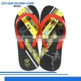 2014 new design composite beach slippers have small holes of the slippers