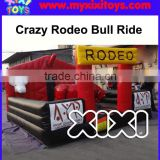 XIXI TOYS Rodeo bull challenge game, mechanical bull rides for kids