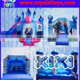 2016 Frozen bouncy castle, inflatable jumping bouncer for kids,moonwalk house inflatable
