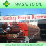 waste tire recycling tire pyrolysis to liquid fuel plastic recycle oil pyrolysis factory