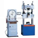 Computeized Screen display hydraulic universal testing machine+cement,wire rope, components