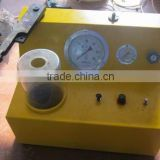 HY-PQ400 double spring nozzle tester ,The air valve is opened by pulling
