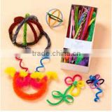 Box Package Handcraft Chenille stem Craft Set-Hat/Flower