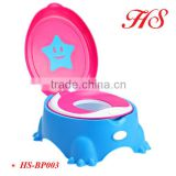 Hot Selling plastic portable toilet baby potty training seat potty stool potty chair