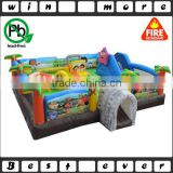 dora and diego inflatable playland kids inflatable amusement park equipment