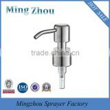 MZ-wholesale Hot sale top grade 1cc dosage stainless steel lotion pump/soap lotion pump 24/410 28/400