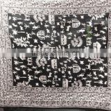 RTBSC-1 Traditional Indian Ethnic Printed Double Bed Sheet Work Printed Cotton Home Furnishing Bed Spread