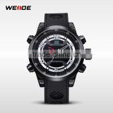 WEIDE WH3315 Fashionable luxury Digital Analog silicone wrist watch